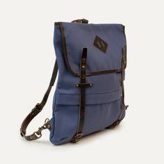 Coursier backpack - Indigo - Bleu de chauffe