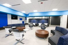 Coalesse Circa Lounge in United Bank's Grand Rapids office