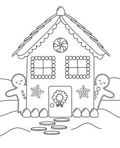 Free Printable House Coloring Pages For Kids | Pinterest ...