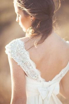 Dress by Anna Campbell lace
