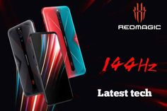 Fastest gaming phones(Nubia Red Magic ZTE) There was a time when phones were designed just to make calls. Concept Phones, Smartphone, Magic, Technology, Red, Tech, Tecnologia, Engineering, Rouge