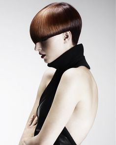 short brown straight Multi-Tonal bob Womens haircut hairstyles for women