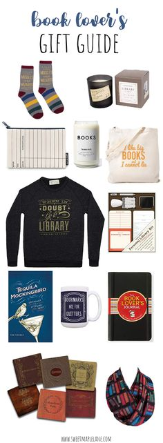 Not sure what to get the book lover on your list? This book lover's gift guide takes the guessing out of gift giving! Perfect for anyone who loves books!