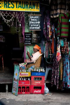 India (fotografía de Steve McCurry)