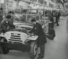 النصر لصناعة السيارات حلوان ،الستينات