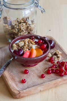 Granola (vegan & sans gluten)