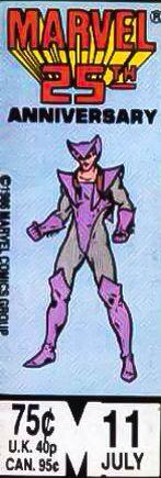 Marvel corner box art - Squadron Supreme limited series (Lamprey pictured)