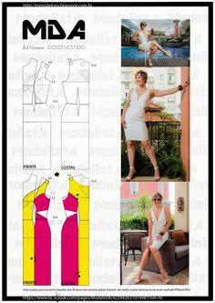 ModelistA: A4 - NÚMERO 0003 - VESTIDO Sweetheart dresswith side cutout