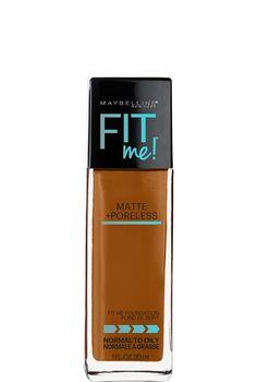 Fit Me Matte & Poreless Foundation, Pore Minimizing Foundation by…
