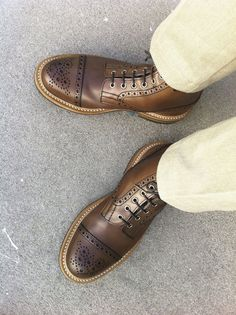 I just love the welting on these. The brogueing is also great.