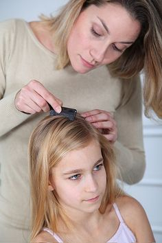 For future reference... Coconut oil + apple cider vinegar to treat head lice. Pin now and pray I never need!