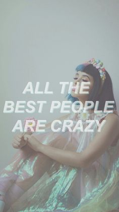 melanie martinez, crazy, and wallpaper image