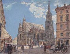Rudolf Von Alt - Stephansdom in Wien