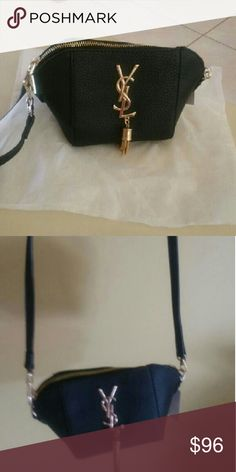 Black and gold shoulder bag New Never used Inspired Bags Shoulder Bags