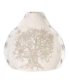 Look at this #zulilyfind! Rounded Cream Tree Vase #zulilyfinds