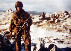 Mount Longdon, Falklands islands, 12 june 1982, pin by Paolo Marzioli