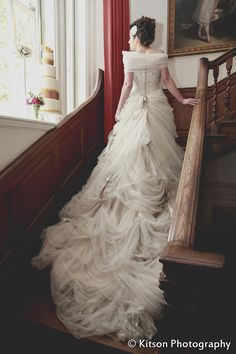 Ian Stuart 'Antoinette' dress modelled by @Vincenza Montecalvo