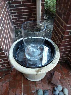 ideas for diy garden fountain building