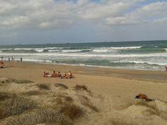 Puesta de sol en la Albufera de #Valencia y playa del Saler #Valencia #lameuaterreta