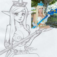 Jessica Nigri Janna League of Legends by Banzchan.deviantart.com on @deviantART