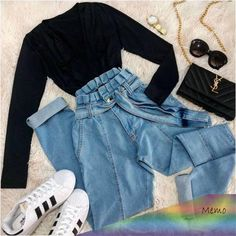 outfits for school . outfits with leggings . outfits with air force ones . outfits for summer . outfits with sweatpants Teen Fashion Outfits, Retro Outfits, Outfits For Teens, Style Fashion, Teenage Girl Outfits, Workwear Fashion, 70s Fashion, Cute Fashion, Fashion Ideas