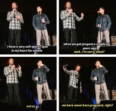 [gifset] Jensen and Jared at #SeaCon15