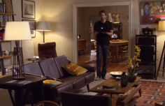 Hank Moody's Apartment love the warm family feeling of this place