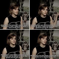 Emma Watson - What's it like fulfilling every girl's fantasy in playing Belle?