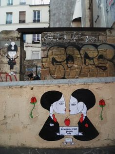 paris street art - Fred le Chevalier