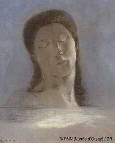 Odilon Redon ,Closed Eyes,© photo RMN