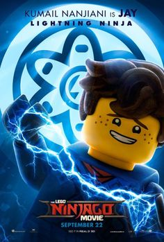 LEGO Ninjago Movie Character Posters and Featurettes Jay Ninjago, Ninjago Memes, Lego Ninjago Movie, Lego Movie, Lego Kai, Jay Walker, Aarmau Fanart, Lego Wallpaper, Fred Armisen