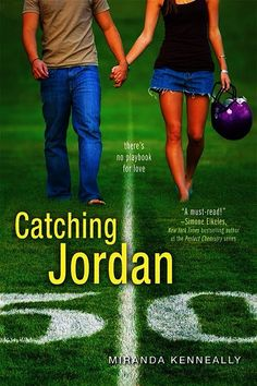 Catching Jordan. I didn't expect it to be as good as it was, I didn't take the cover seriously, but don't judge a book by its cover!! This book was really good and worth the read =)