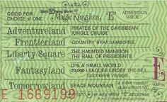 READ IT Grown Up Disney Kidtumblr Post 120659530069 Tbt Vintage Tickets From A To E