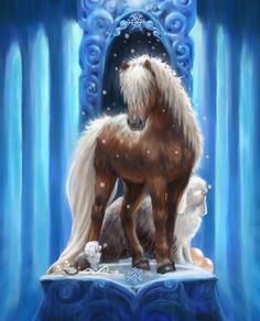 Sleetmane by JLMeyer for Bella Sara. Love the horses - wish they had left out all of the kids and Adventures