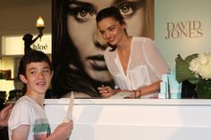 Miranda Kerr David Jones Sydney - Organics Valentine's Day Event Today - Valentine's Day in Sydney, Australia, world famous Australian model - Miranda Kerr made an in store public appearance at David Jones Sydney to promote her range of KORA Organic Cool Wedding Rings, Beautiful Wedding Rings, Australian Models, World Famous, David Jones, Miranda Kerr, Valentines Day, Sydney Australia, Public