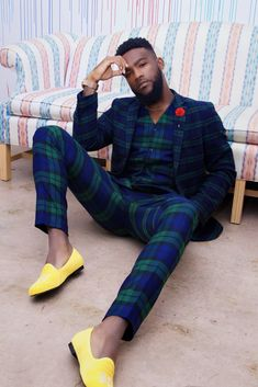 The Best African Wear For Men You Must Try Fashonails is part of African men fashion amazing men's african fashion trendy African styles For decades civilization had taken the place of African - Mens Fashion Suits, Mens Suits, Trendy Fashion, Men's Fashion, Mens Plaid Suit, Black Men In Suits, Fashion Shoes, Fashion Trends, African Men Fashion