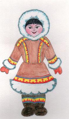 Дидактическая игра «Северный гардероб». - Для воспитателей детских садов - Маам.ру