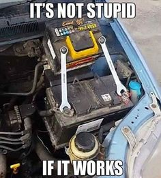 Post with 2833 votes and 173129 views. Tagged with funny, mechanic; Trust me I'm a mechanic Truck Memes, Car Jokes, Funny Car Memes, Really Funny Memes, Car Humor, Haha Funny, Funny Humor, Redneck Humor, Facebook Humor