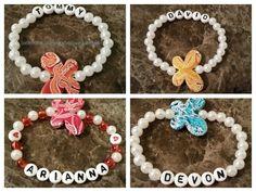 Personalized bracelets belovedangels.com