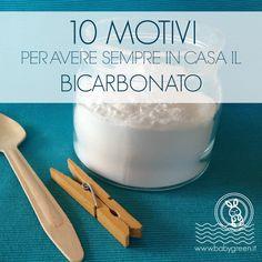 Share Tweet + 1 Mail Bicarbonato, amore mio.Dall'alimentazione all'igiene personale, il bicarbonato ormai è entrato stabilmente in casa nostra sostituendo moltissimi prodottimolto più costosi, ...