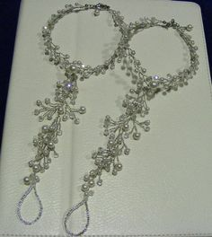 Beach wedding barefoot sandals made to order by Nanda on Etsy