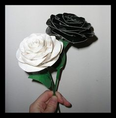 awesome Duct Tape Flowers - The Designed