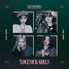 BLACKPINK LOVESICK GIRLS / THE ALBUM cover #2 by LEAlbum on DeviantArt Kpop Posters, Girl Posters, Tour Posters, Yg Entertainment, Square Two, Blackpink Twitter, Blackpink Poster, Lisa Blackpink Wallpaper, Galaxy Wallpaper