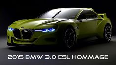 from Cars-2,cartoon2015 BMW 3.0 CSL Hommage Exterior