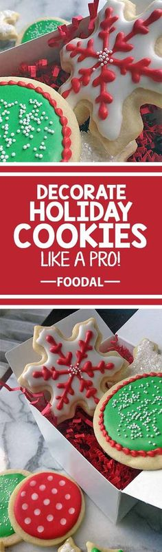 Looking for a way to spruce up your holiday cookie decorating this year? You need Foodal's ultimate guide to mastering royal icing! Use our easy recipe and try our different techniques for decoration styles. The desserts at your next holiday gathering will be too pretty to eat… well, almost too pretty!