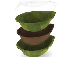 Leaf Republic has developed beautiful disposable tableware made from nothing but leaves.