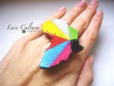 Plural Africa  Ring or Brooch  by LuceCultura on Etsy, €15.00
