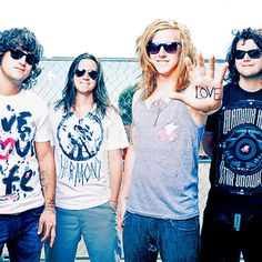 I adore these boys<3 We the Kings<3