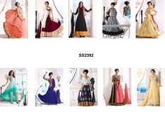 Catalog Name : SS2392    Designs : 10 MOQ : Full Catalog  http://www.ekhantil.com/exclusive-and-fashionable-embroidery-anarkali-suit/