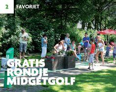 Met de #Rotterdampas kun je 1 keer gratis een rondje midgetgolf spelen en krijg je daarna onbeperkt 50% korting op een rondje midgetgolf! #Favoriet #Midgetgolf #Rotterdam #Plezier